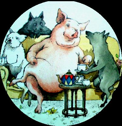 Trois petits loups – chanson sur l'Habitat Léger !